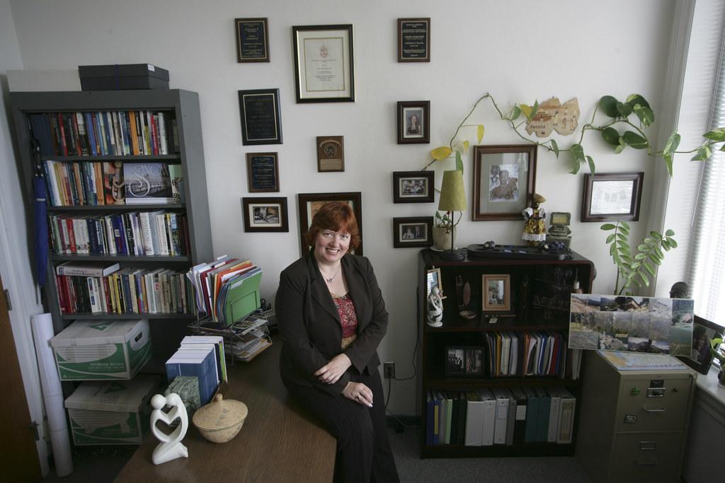 Inside a Professors Office  Celine Jacquemin is