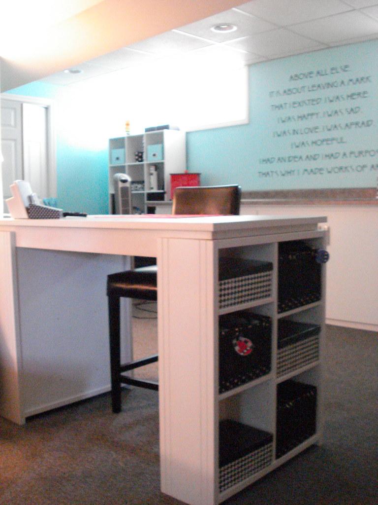 Pier 1 desk with cube storage  pamelarosenberg1  Flickr