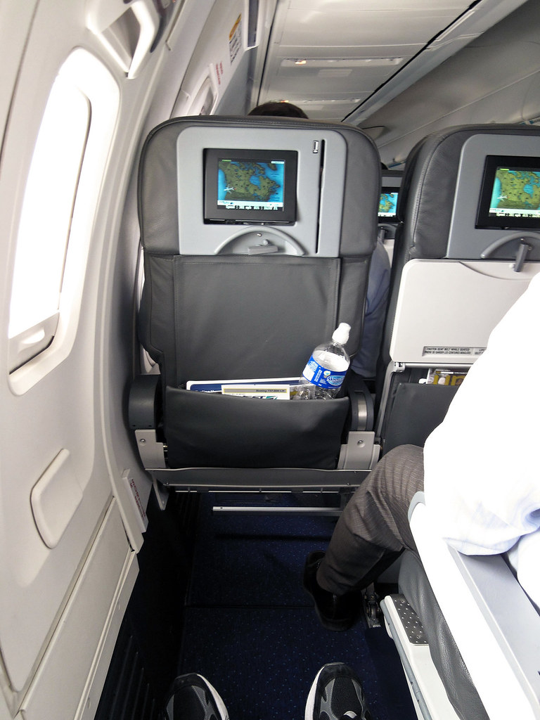 Now THATS What I Call Legroom  Sitting in the emergency