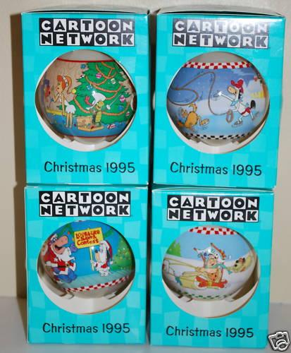 Cartoon Network Christmas Ornaments 1995 Mr Flintstone