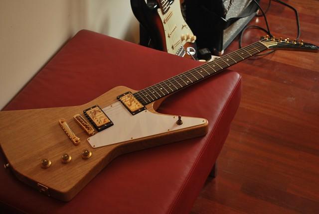 Orville by Gibson Korina Prototype Eric Clapton Cut Explor