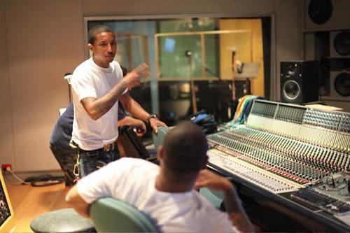 pharrell in studio  Best photos from Pharrell Williams