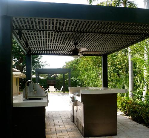 Modern Outdoor Kitchen  outdoorkitchenbuiltingrill