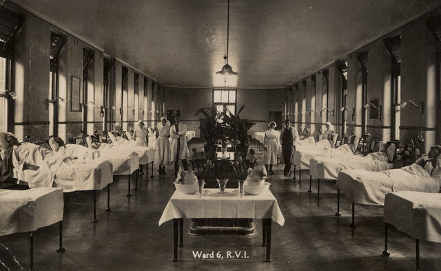 046122Ward 6 Royal Victoria Infirmary Newcastle upon Tyne  Flickr