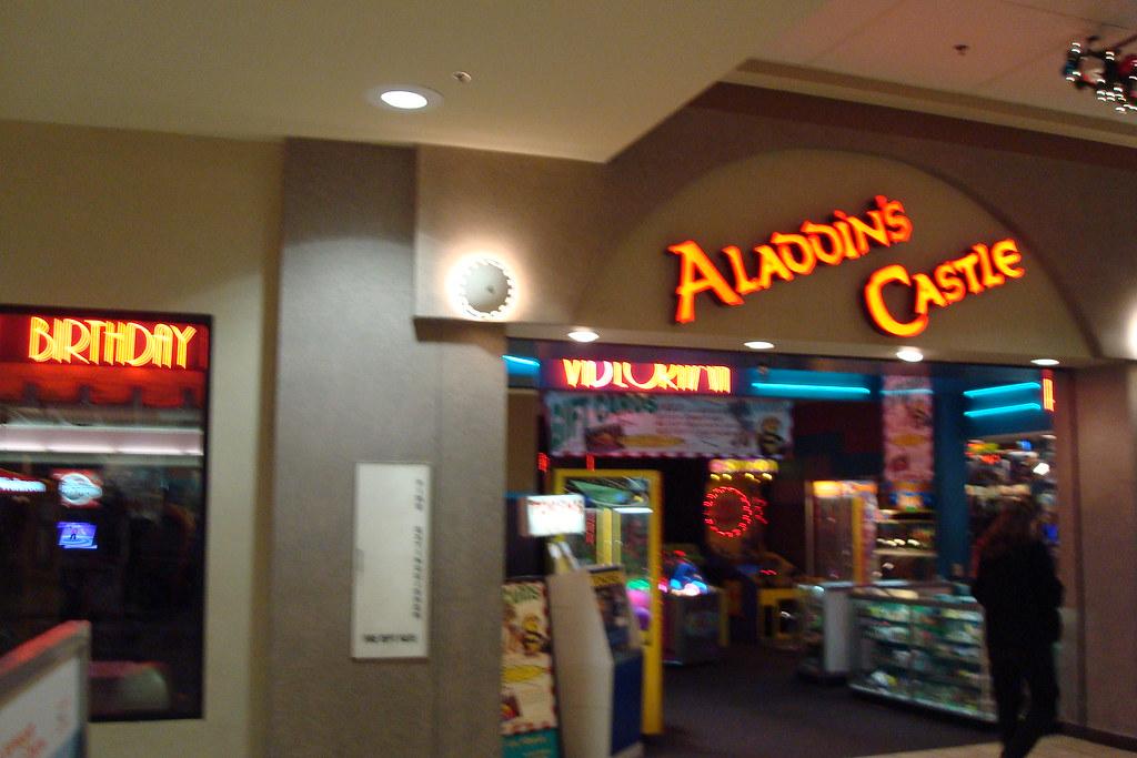 aladdinscastle1  Aladdins Castle  Mesa MallGrand