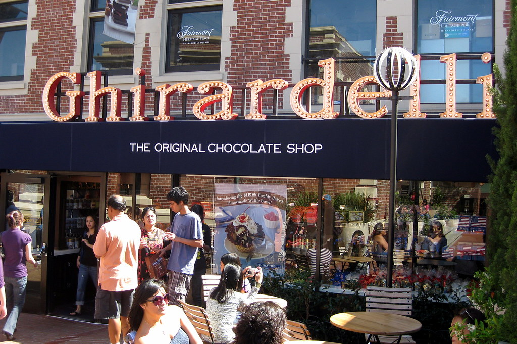 San Francisco  Fishermans Wharf Ghirardelli Square  Flickr