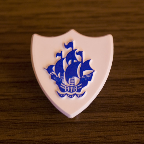 Blue Peter Badge  My Blue Peter badge From the good old da  Flickr