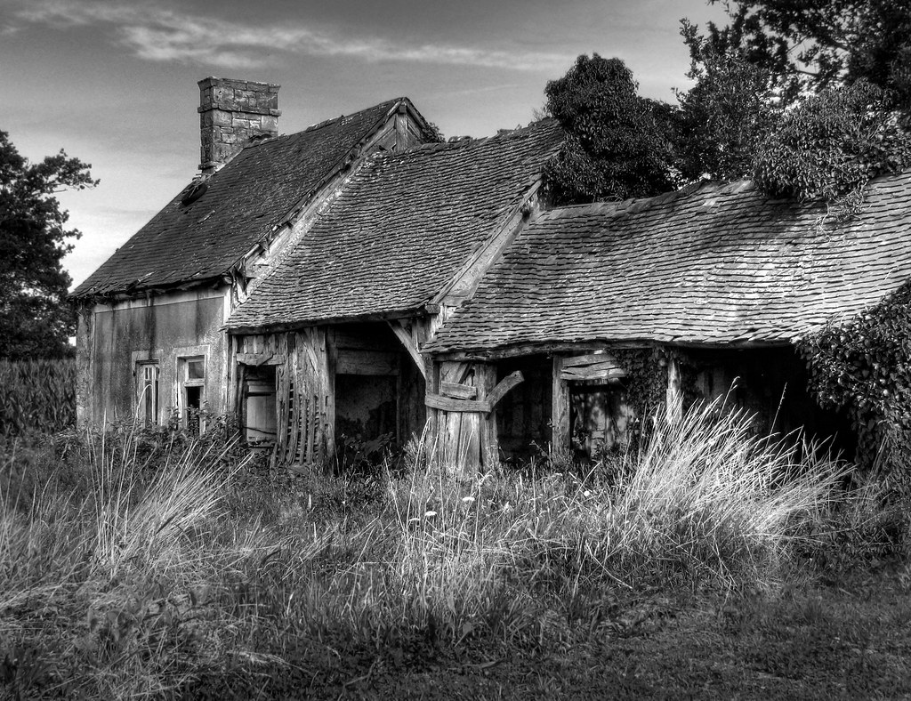 Abandoned Farmhouse By