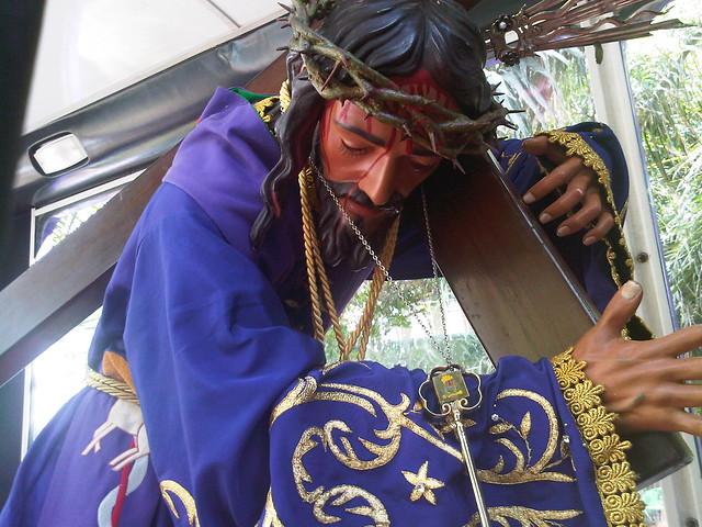 Imagen del Santísimo y Milagroso Nazareno de Achagua.