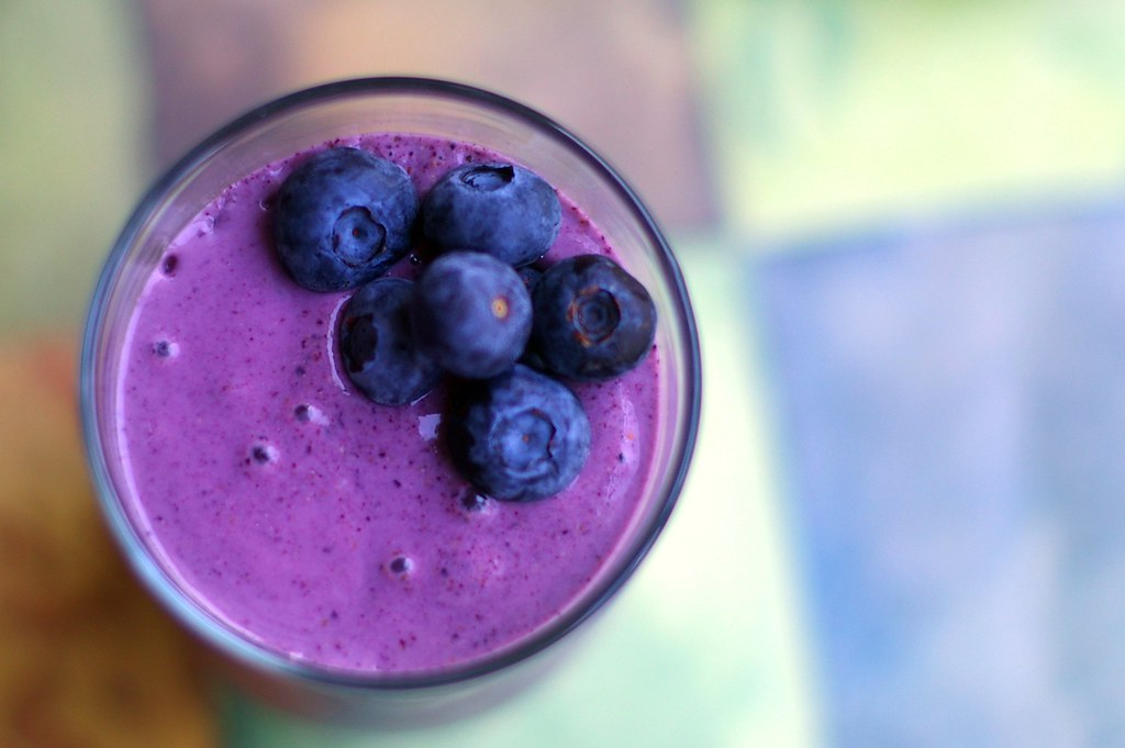 Blueberry Smoothie without Yogurt