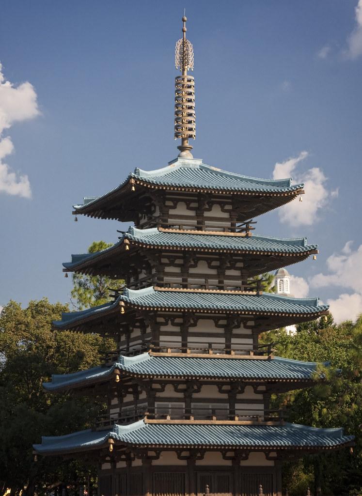 Japanese Pagoda  A Japanese pagoda at the Japan pavilion