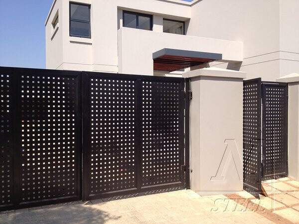 stunning modern gate design ideas 16