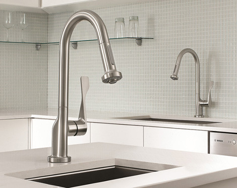 4033152957 5295a26dc8 White Kitchen Faucets 4 Hole