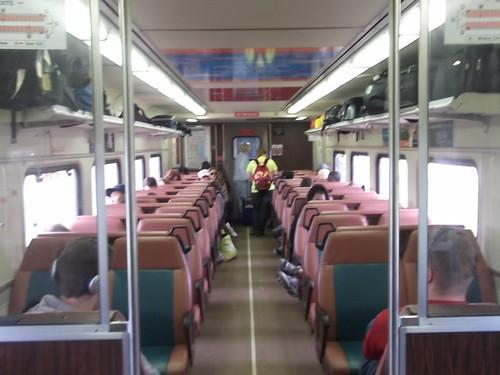 Inside A South Shore Line Train Strannik45 Flickr