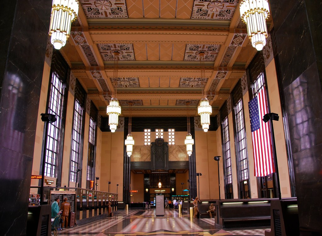 inside Omaha Union Station  Omaha Union Station 1931 was   Flickr