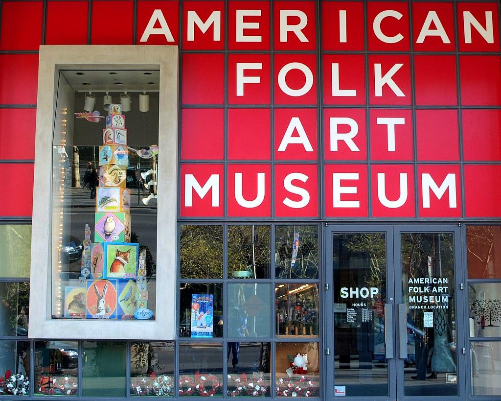 American Folk Art Museum Lincoln Square Branch New York