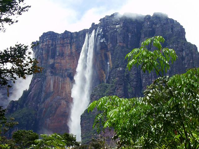 3d Free Fall Nature Wallpaper World S Highest Waterfall Canaima National Park Venezue