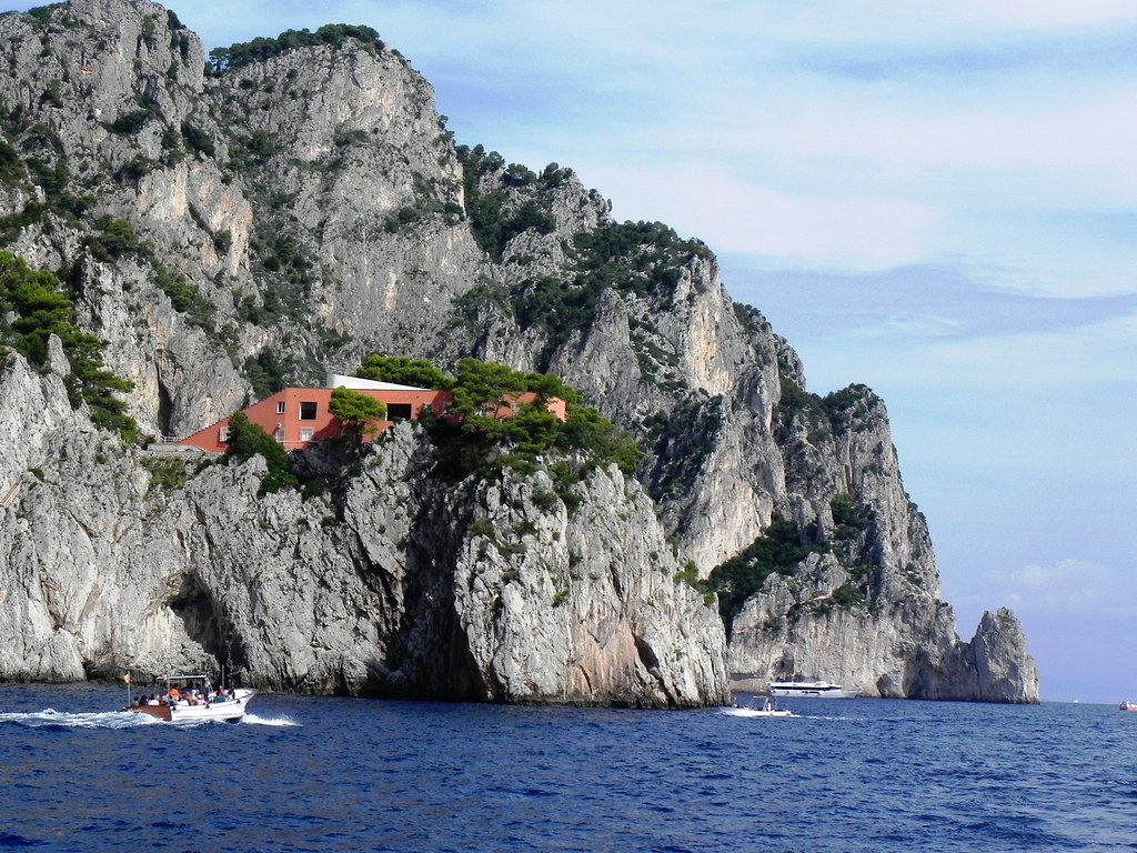 Capri Villa Malaparte  BLURIDE Excursion to Malaparte