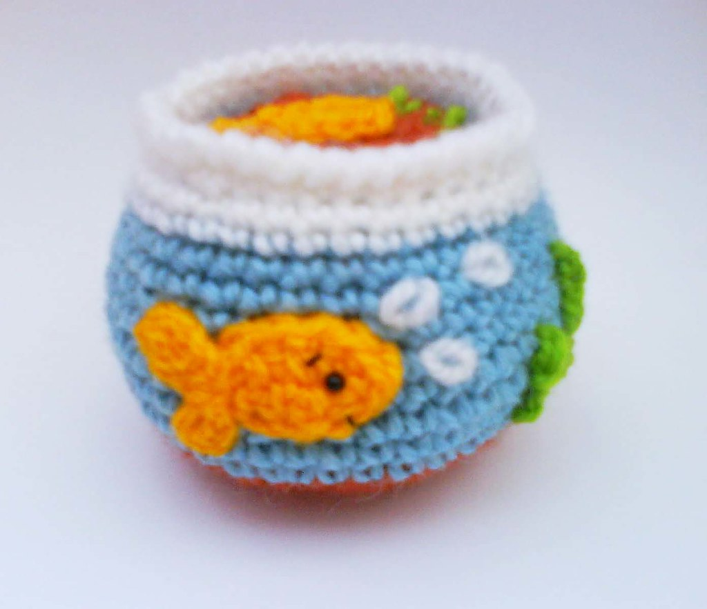 Goldfish Tank Crochet Pattern