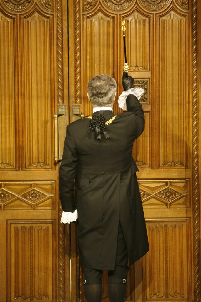 State Opening 2009 Black Rod  Black Rod is sent from the