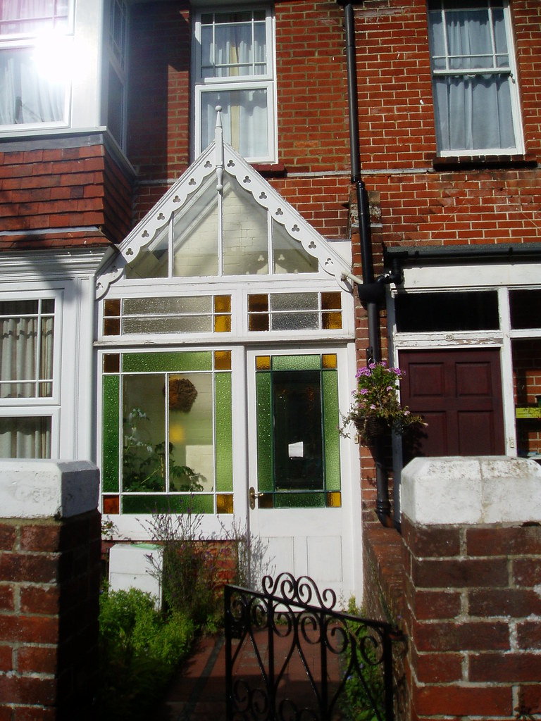 Wood And Glass Porch Edwardian House Victoria Drive Eas