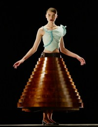 British Fashion awards Hussein Chalayan table dress | Flickr