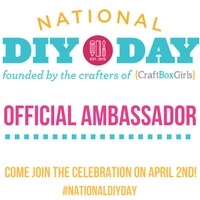 National DIY DAY Ambassador Badge