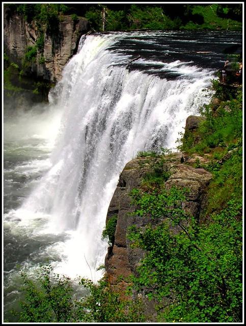 Mesa Falls Idaho  Natures Wild Beauty on the Snake Rive