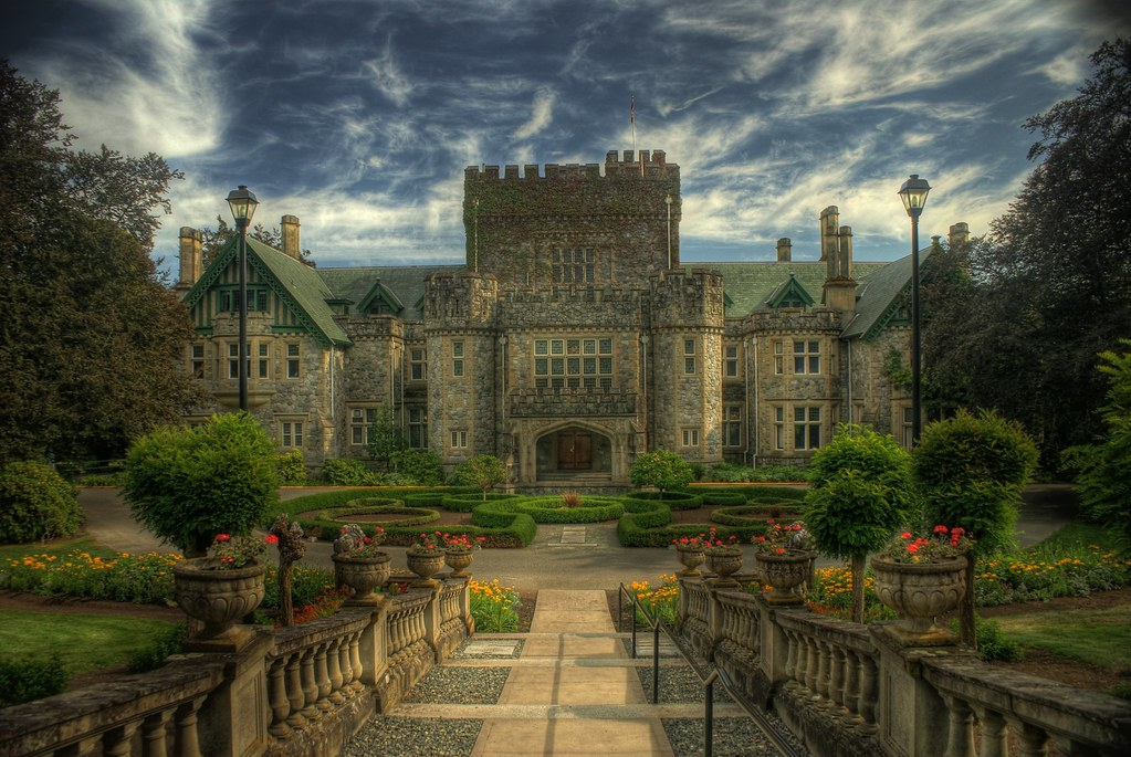 Hatley Castle  LARGE ON BLACK press F11 for full screen vi  Flickr