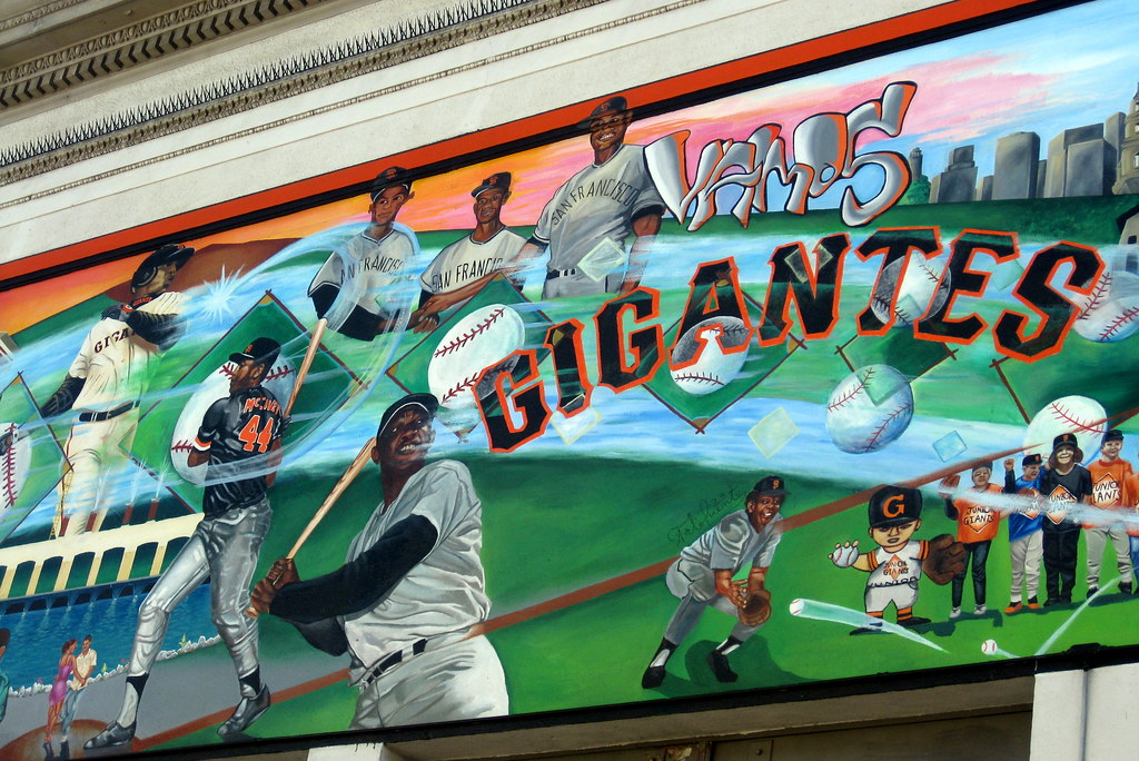 San Francisco  Mission District Vamos Gigantes  All of
