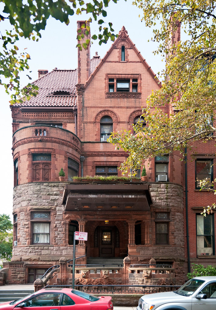 elevation Herman Behr House 1890 84 Pierrepont Street