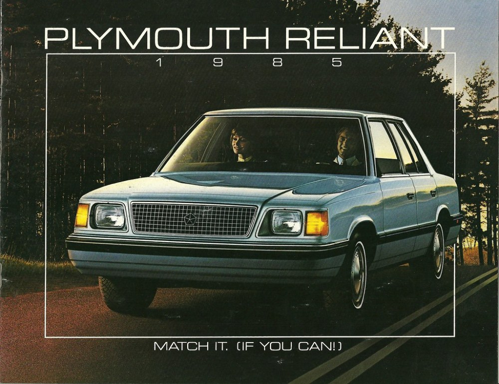 medium resolution of plymouth reliant 1985 by hugo 90