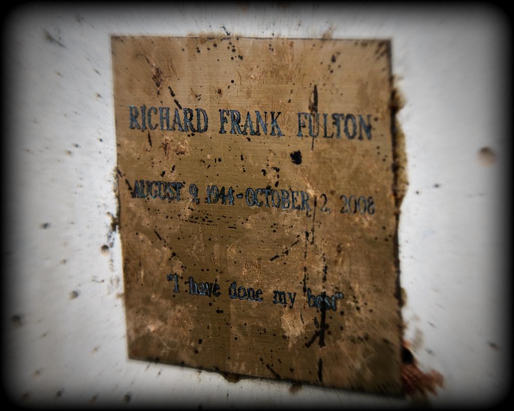 Bixby Bridge RIP  Suicide Plaque  This plaque was put
