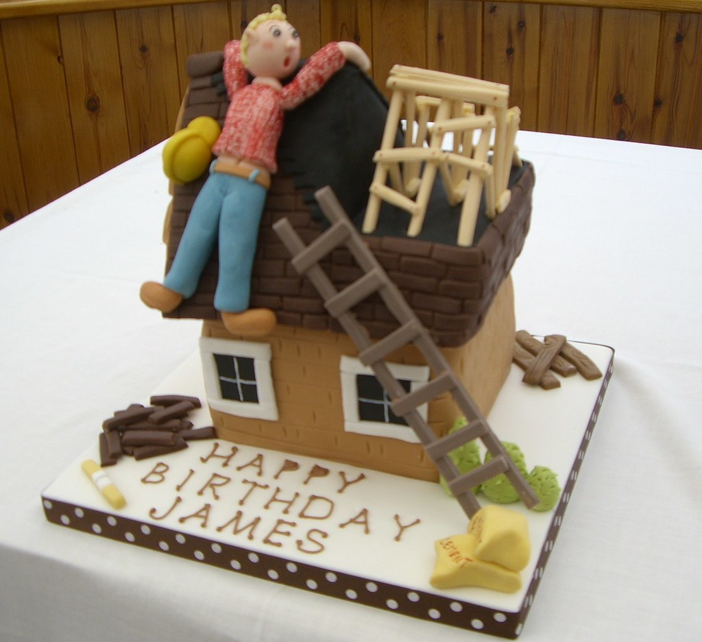 Builder Cake A Builder Cake For My Son In Law Who Is