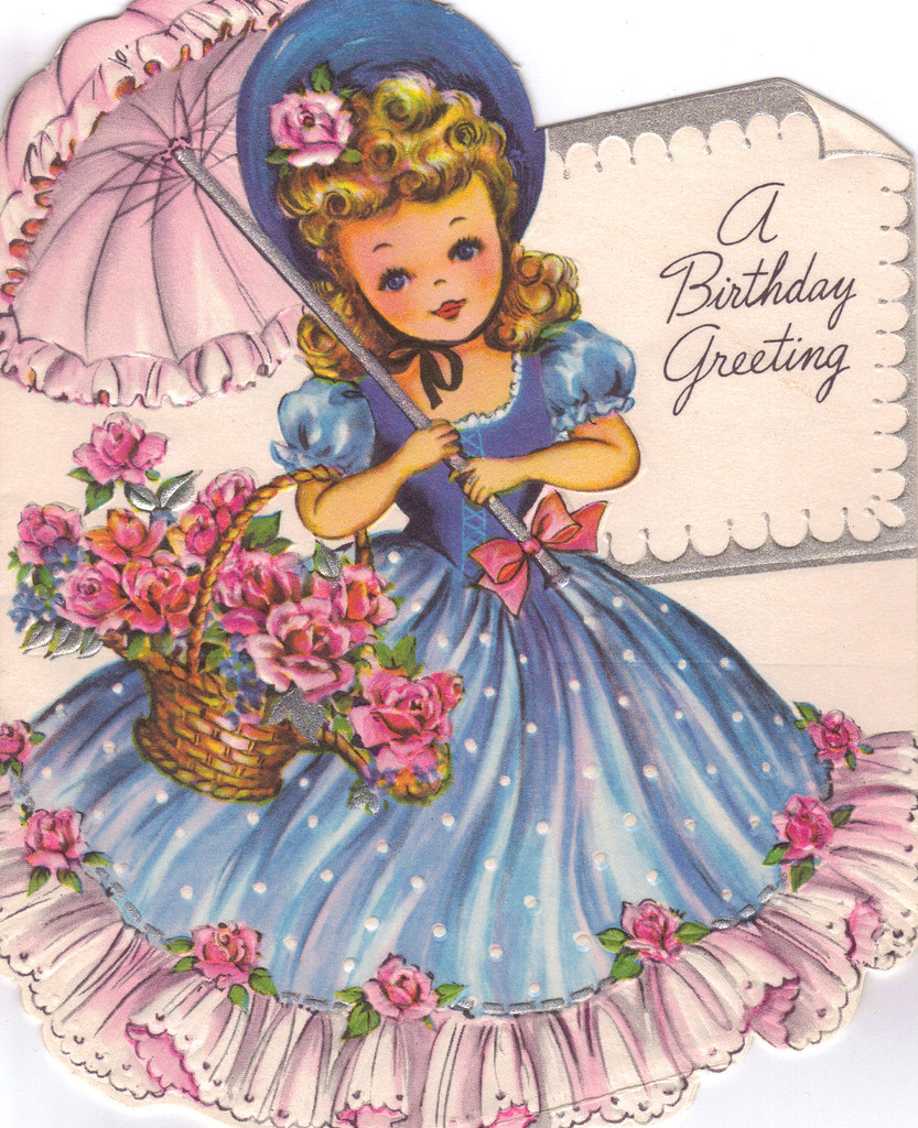 Belle Birthday Card Outside Kathie McMillan Flickr