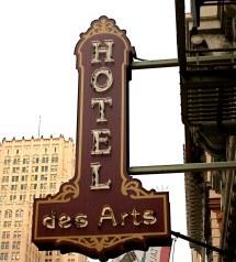 Hotel Des Arts San Francisco California Curtis Cronn
