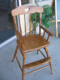 """SOLD: Toddler dining chair 