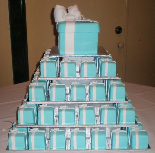 Tiffany  Co cake setup  Kelly  Flickr