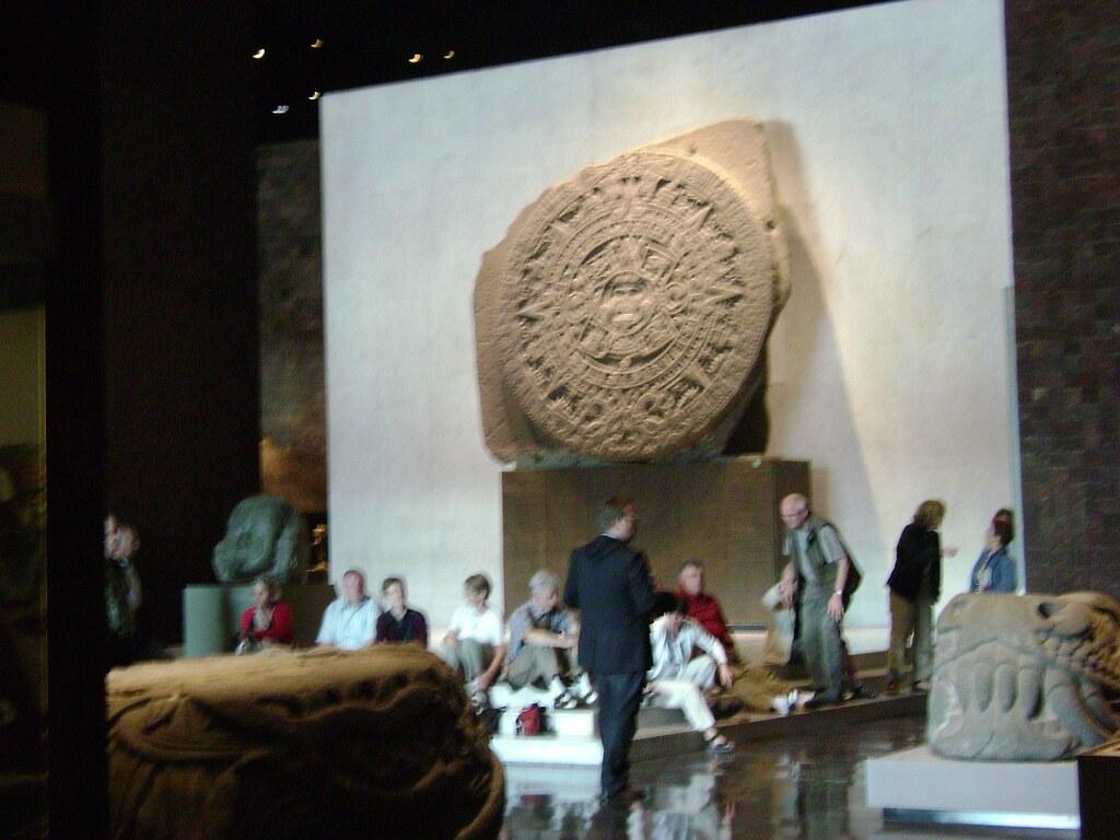 Calendario Azteca Sala Mxica Museo Nacional de Antropol