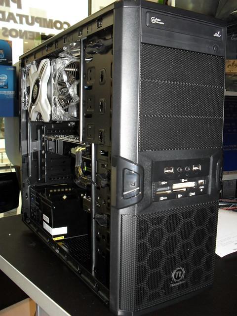 PC  Andr Henrique Antunes  Gabinete Thermaltake V3 Black   Flickr