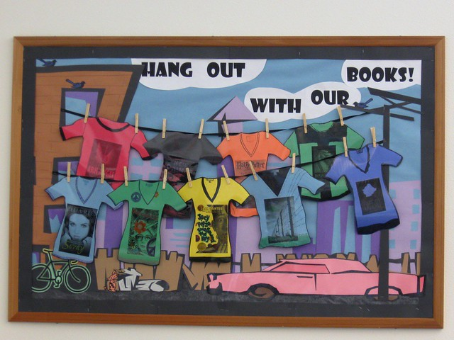 Hang Out With Our Books Bulletin Board  This is our newes  Flickr