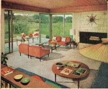 1950s Living Room Decor