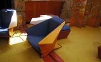 DSC00616 Frank Lloyd Wright origami chair