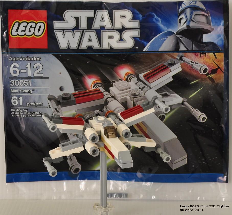 Star Wars Lego 30051 X Wing Fighter Mini Star Wars