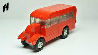 Small Lego Bus (Updated Version)