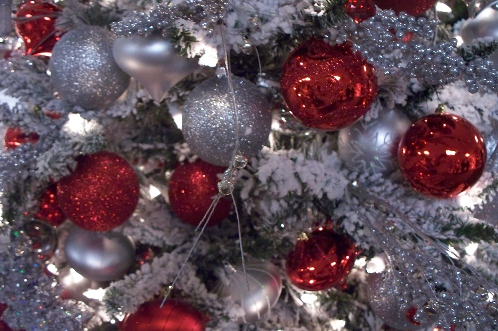 Christmas Tree Closeup 1 A Closeup Or Macro Shot Of A