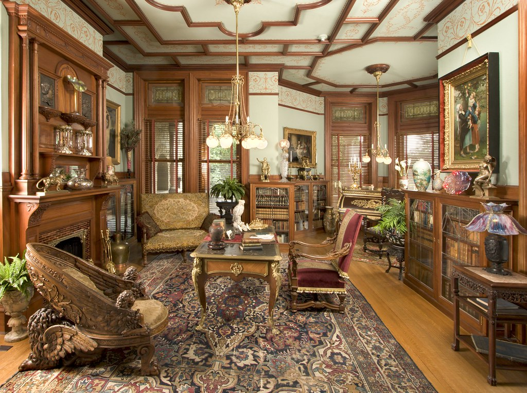 Maymont Mansion Library  Maymont  Flickr