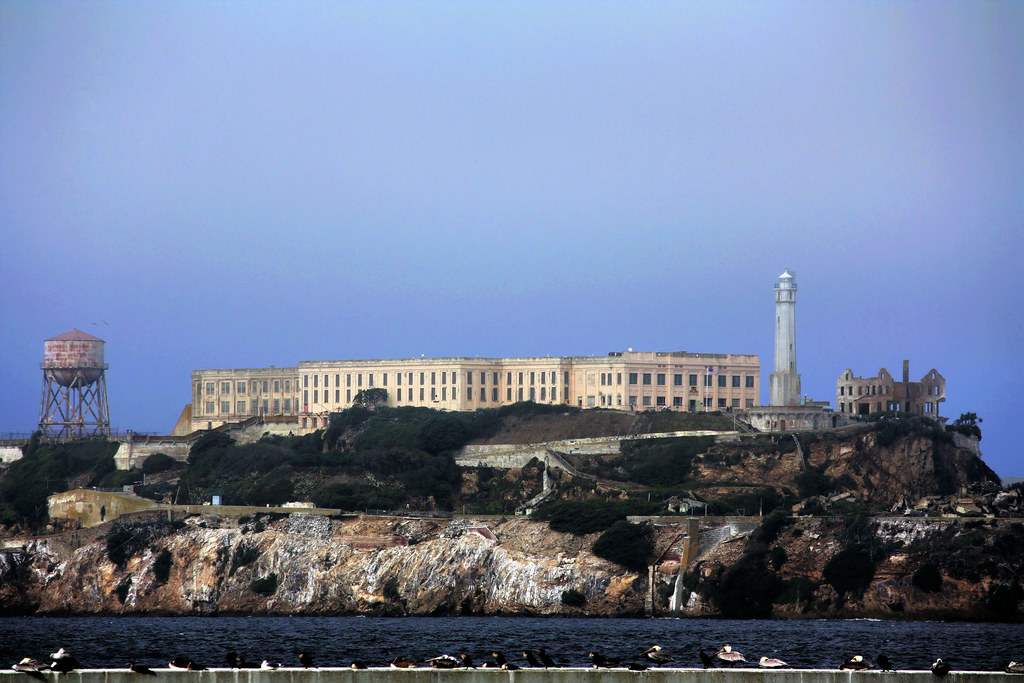 Alcatraz Federal Penitentiary The Rock  Due to its