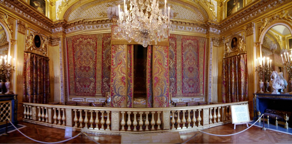 Chambre du roi Louis XIV  1701 Louis XIV Bedroom  Flickr