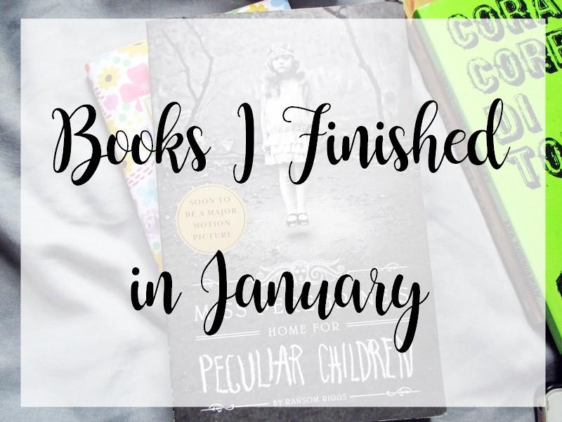 Books I Finished in January - Hola Darla